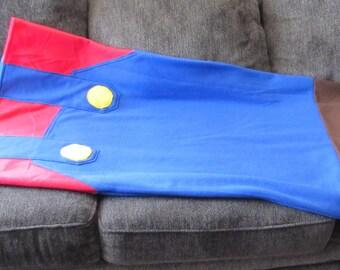 Mario Fleece Sack Blanket