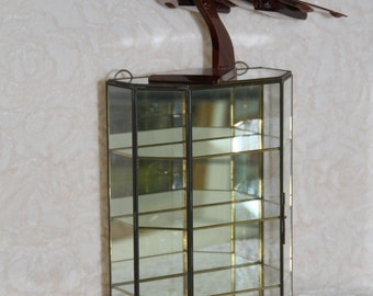 Large vintage showcase