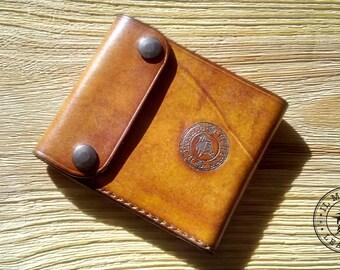 Wallet, men's wallet, wallet, gift for him, personalized, handmade, artisanal, rustic