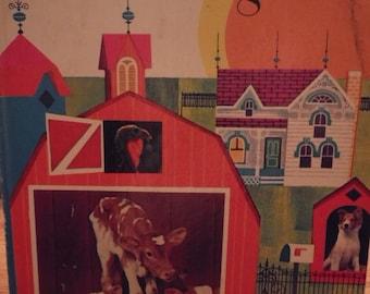 Good Morning, Farm - A Golden Book - Betty Ren Wright - 1974 (Ex-Lib Copy)