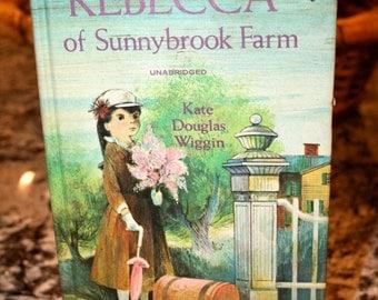 1965 Rebecca of Sunnybrook Farm Unabridged//By Kate Douglas Wiggin//Vintage Book