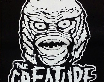 BACK PATCH - The Creature from the Black Lagoon canvas HORROR Universal Monsters
