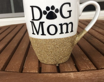 Dog Mom Coffee Mug, My Child has Four Paws mug, Fur Mama