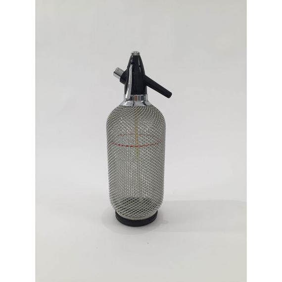 Vintage stainless Soda Syphon mint condition