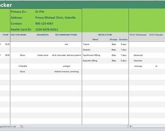 medication inventory spreadsheet