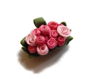 Rose Bouquet Pendant