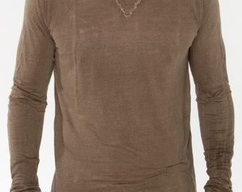 100% Jersey Linen T-Shirt Style-1103