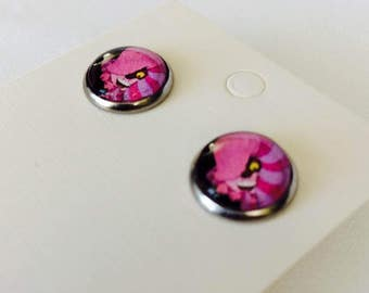Earrings - cuckoo, cat from Chester!