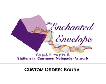 CUSTOM ORDER: Koura, Personalized Posters, Custom Posters, Custom Artwork, Movie Artwork, Movie Posters, Movie Trailer Poster, Cinema Poster