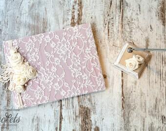 Wedding Wish Book, Wedding Guest Book, Wedding Book, Vintage Wedding Book, Wedding Decoration, Handmade, Vintage, Unique Wedding Book