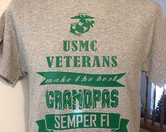 Independence day gift for grandpa, pick your branch, Navy, Army, Air Force, and Marines veterans make best grandpa, dads daughters sons