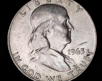 1948-1963 Franklin Half Dollar 90% Silver
