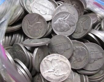 1942-1945 Silver War Nickels