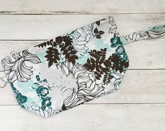 Medium Knitting Project Bag with Zipper