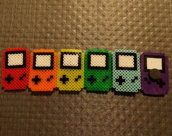 Nintendo Gameboy Perler Bead Magnets