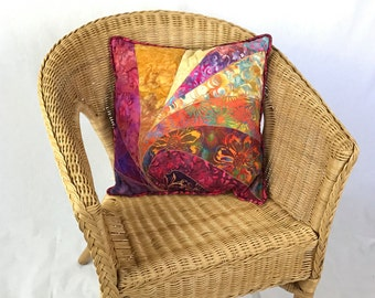 Quilted Cushion Cover with Insert