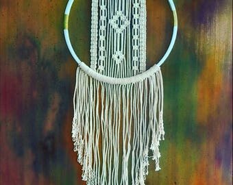 Wall Hanging Macrame/Bohemian Gypsy Decor/Home Decor/Office Decor/Wedding Gift/Handmade Gift/Handmade Decor/ Home Living Decor/WeddingFavors