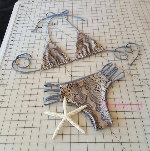 VERALU Cold Hearted reversible bikini set