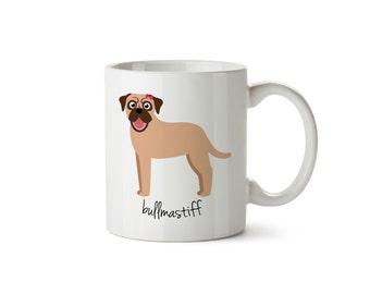 Bullmastiff Mug (girl)