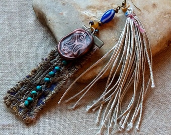 Totem pole loop only (single earring Totem)