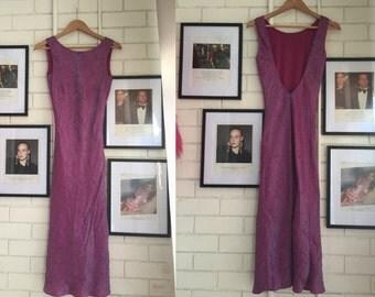 90s Pink Formal dress