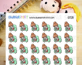Janine is GAMING Planner Stickers (G1728)