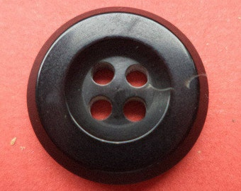 10 black buttons 18mm (5928) jacket buttons