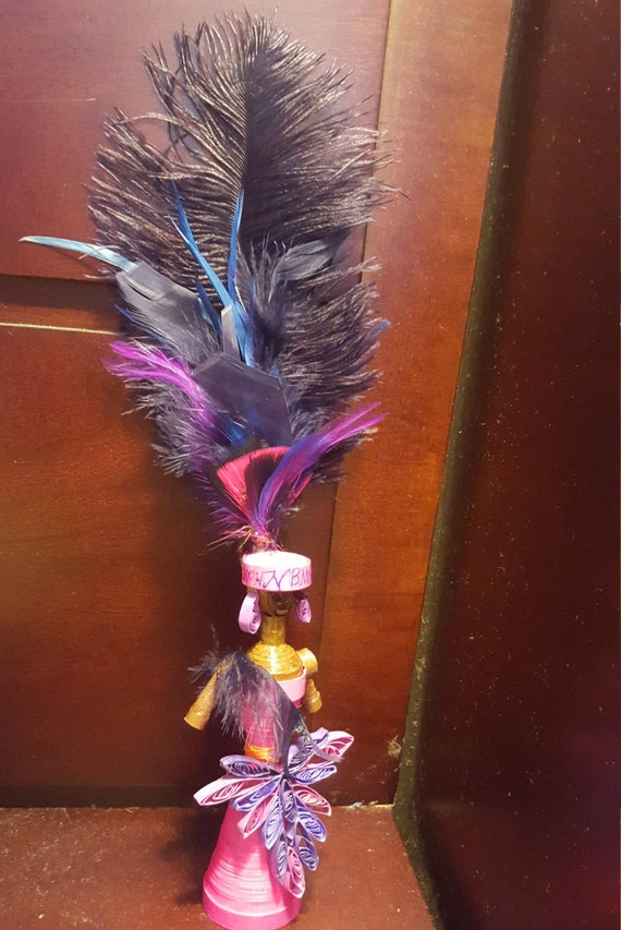 Quilled African American Dolls