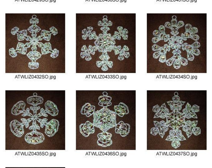FSL-Mylar-Snowflake-Fantasy ( 10 Machine Embroidery Designs from ATW ) XYZ17B