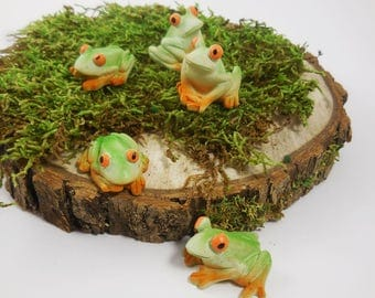 Miniature frog Etsy
