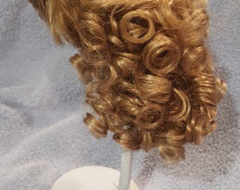 "Beautiful Vintage Doll Wig Cristy 12-13"" Blonde"