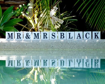 Mr and Mrs Wedding signs, Rustic wedding sign, Wedding name sign, Wedding Decorations, Custom wedding sign,