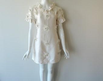 1960's Original Vintage 'Mini' Dress