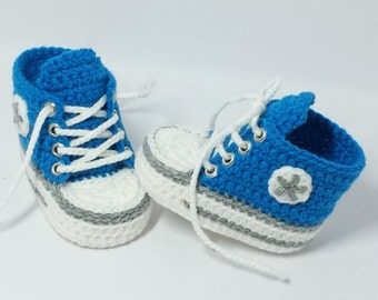 Baby shoes, Chucks, Gr. 16, Blue