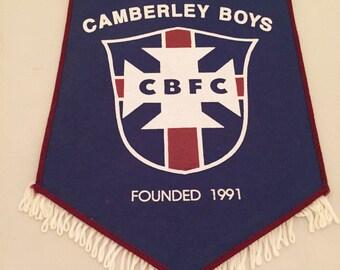 Camberley Football Pendant c.1990s