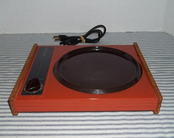 Vintage Cornwall Electric Tray Hot Plate Food Warmer