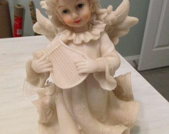 Items Similar To Vintage Angel Cherub Wall Plaque