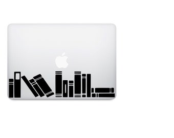 Books Decal - Bibliophile Decal - Bookcase Decal - Library Decal - Laptop Decal - Macbook Decal - Book Sticker - Car Decal - Bumper Sticker