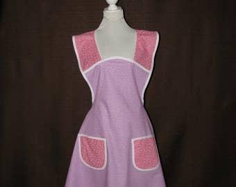 Womens Aprons, Woman apron, Full apron woman, Cooking apron, Retro apron, Retro inspired apron, Wrap tie apron, Chef Gift, extra large apron