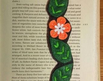 Fekt bookmark, unique bookmark, bookband - handmade