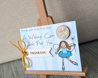 Tooth fairy gift for kids - Tooth fairy letter - Tooth fairy note - Lost Tooth Certificate - Tooth fairy coin - Receipt from Fairy - tiny