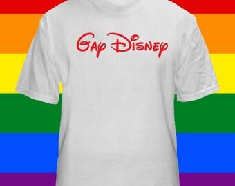 GAY Disney T Shirts