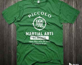 Dragon ball z shirt Piccolo Martial arts school form shirt Gym shirt funny t shirt graphic tee