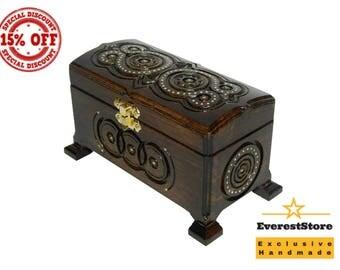 Jewelry Box, Wooden Box, Wooden Jewelry Box, Large Jewelry Box, Wood Box, Memory Box, Keepsake Box, Wooden Keepsake Box, Wooden Chest, Custo