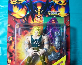 1995 Captive Sabretooth Action Figure [X-MEN]