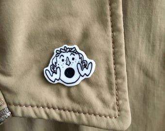 Wow Face - Shrink Plastic / Film Pin