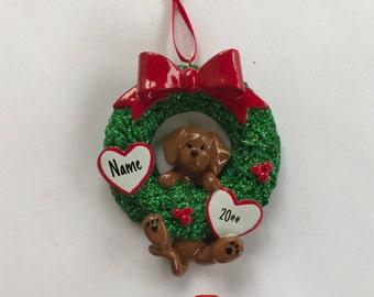 Dachshund  Ornament, Personalized