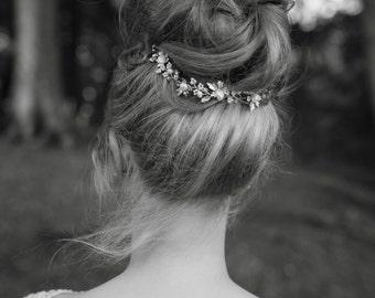 Autumnal Hair Vine, Bridal Hair Vine, Fall Wedding, Wedding Hair Accessories