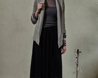 Linen wrap, Knitted linen sweater, Linen summer jacket, Organic linen cardigan,Knit linen jacket,Linen summer wrap,Knit linen sweater