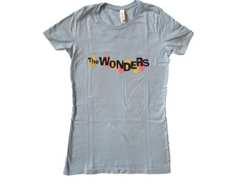 The Wonders Womens T-shirt The Band From That Thing You Do! Movie Shirt Oneders Do Tour Music Fan Gift 90's Blue